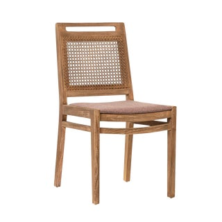 Outdoor Cane Back Chair For Sale