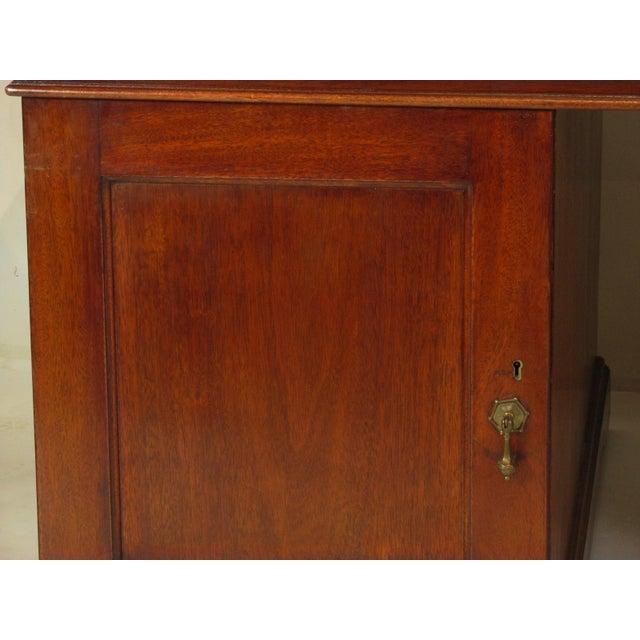 Metal 1900s Edwardian Partners Desk For Sale - Image 7 of 13