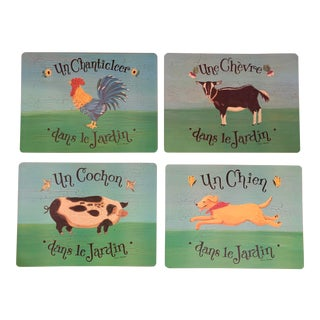 Pimpernel French Country Boards - Set of 4 For Sale