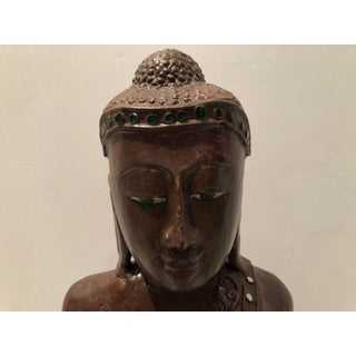 Hand Carved Buddha in Wood Preview