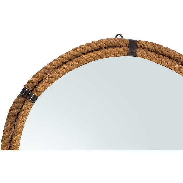 Nautical Rope Round Mirror - Image 2 of 2