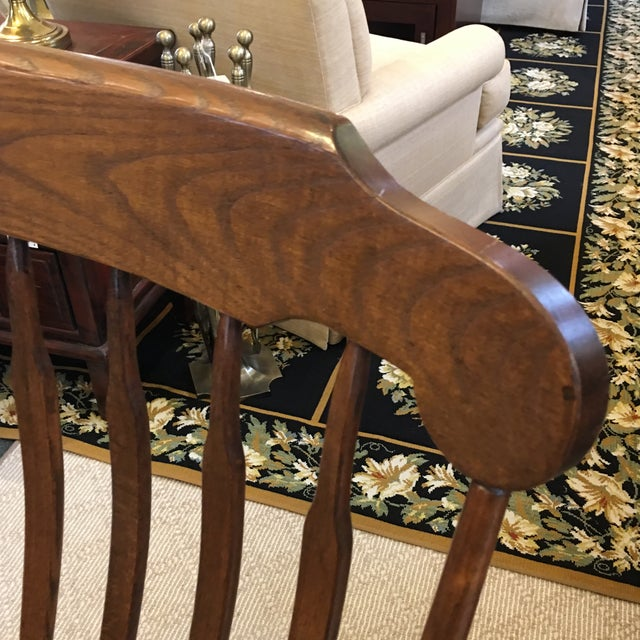 Vintage S. Bent & Bros. Rocking Chair For Sale - Image 10 of 11