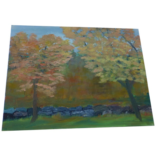 MCM Painting of New England Trees by H.L. Musgrave - Image 1 of 6