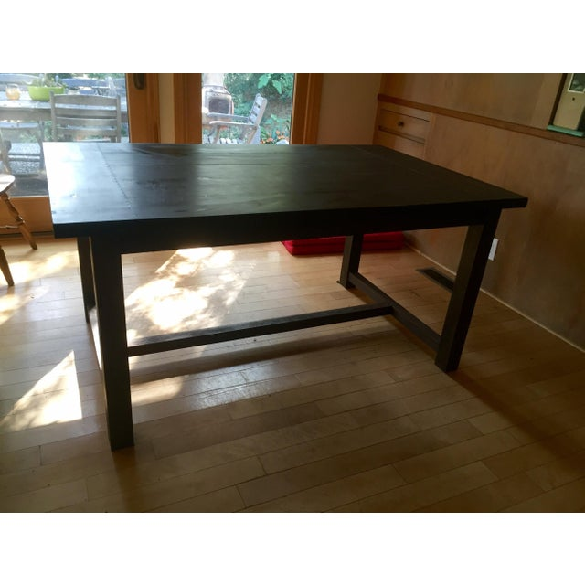 Crate and Barrel Dining Table - Image 2 of 4