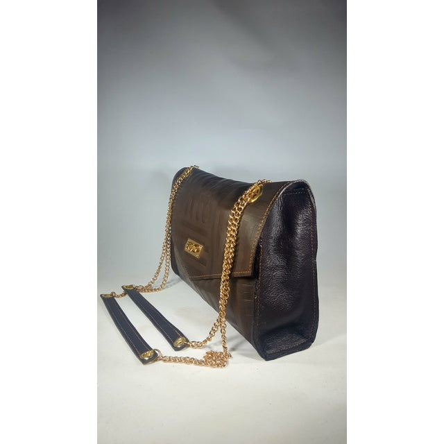 The absolute yummiest of leathers. So soft and supple. This handcrafted, handmade embossed leather envelope handbag is...