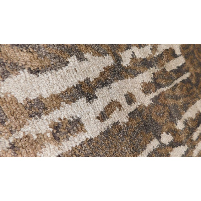 """Contemporary Contemporary Hand-Knotted Luxury Rug - 8' x 10'2"""" For Sale - Image 3 of 10"""