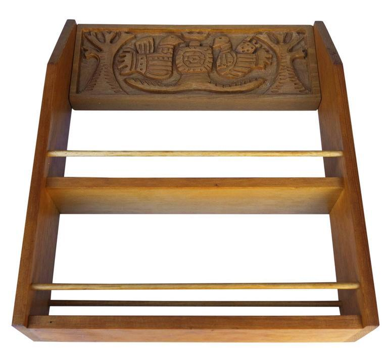 Evelyn And Jerome Ackerman Mid Century Spice Rack, Era Industries For Sale    Image