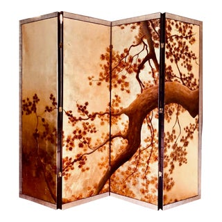 Christian Brandner Asian Style Folding Screen For Sale