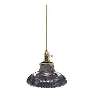 Holophane Art Deco Pendant Light