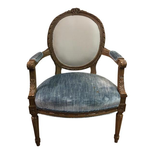Vintage Louis XIV Fauteuil Chair Chairish - Fauteuil louis xiv
