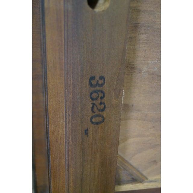 Baker Vintage Walnut Regency Directoire End Table - Image 9 of 10