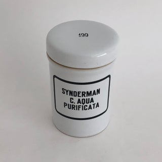 1920s French Apothecary Jar Preview