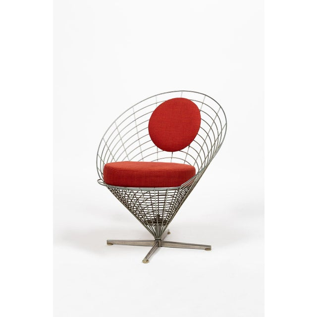 Vire Cone Chair by Verner Panton For Sale - Image 11 of 11