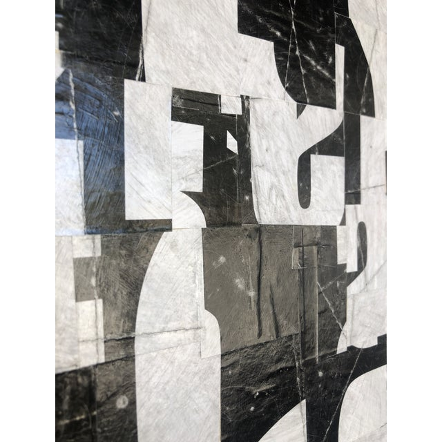 "Abstract Collage on Panel Titled: ""PDP844ct17"" For Sale - Image 3 of 7"