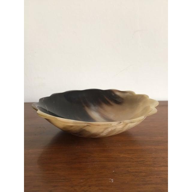 Scalloped Edge Horn Bowl - Image 3 of 4