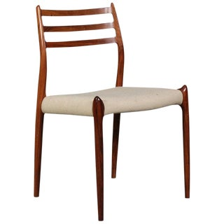Rosewood Dining Chair by Niels Otto Møller Model 78 For Sale