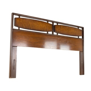 Hoke Wood Products Mid Century Queen Headboard For Sale