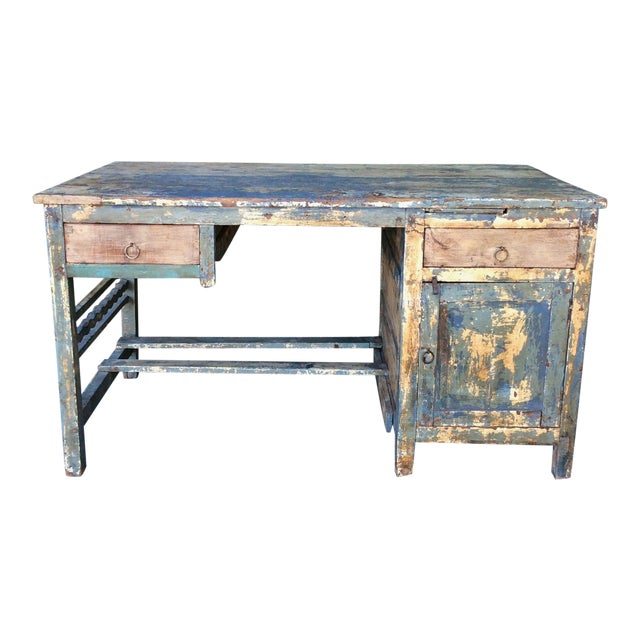 Vintage Shabby Chic Desk For Sale