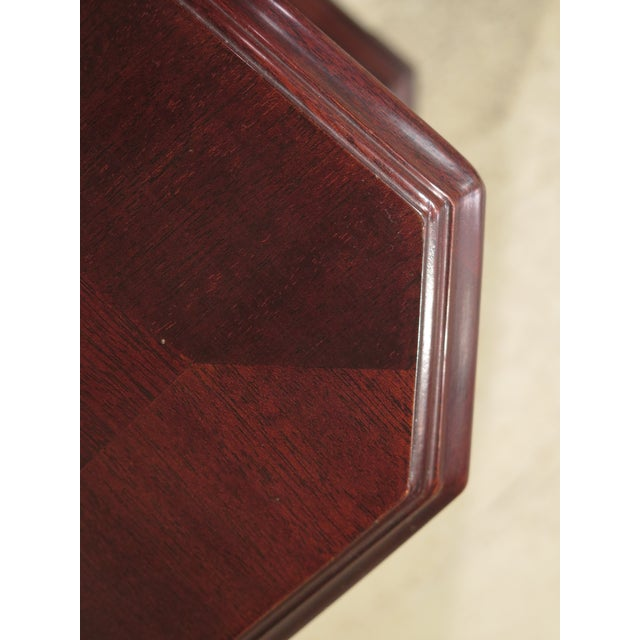 Item: 44300EC: COUNCILL CRAFTSMEN Mahogany Triple Dresser Age: Approx: 20 Years Old Details: Dovetailed Drawer...