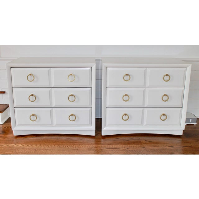 Robsjohn Gibbings Chests of Drawers - a Pair For Sale - Image 11 of 11
