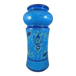 1960s Mid-Century Modern Aldo Londi for Bitossi Baluster Vase