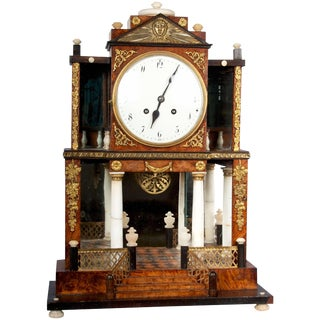 19th Century Empire Clock For Sale