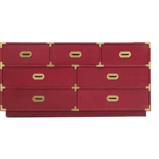 1960s Campaign Chest by Bernhardt For Sale
