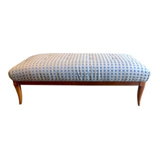 Mid-Century Long Bench For Sale