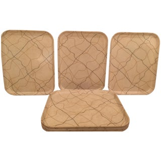 "Vintage ""Camtray"" Hospital Trays - Set of 8"