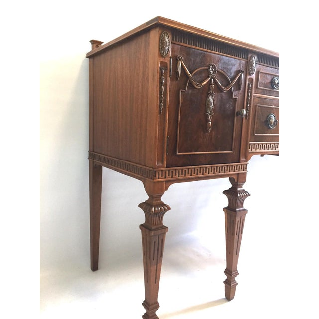 American Antique Mahogany Sideboard/Credenza For Sale - Image 3 of 8