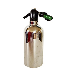 Steel Soda King Seltzer Bottle For Sale