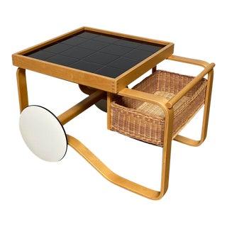 Alvar Aalto Tea Trolley 900 For Sale