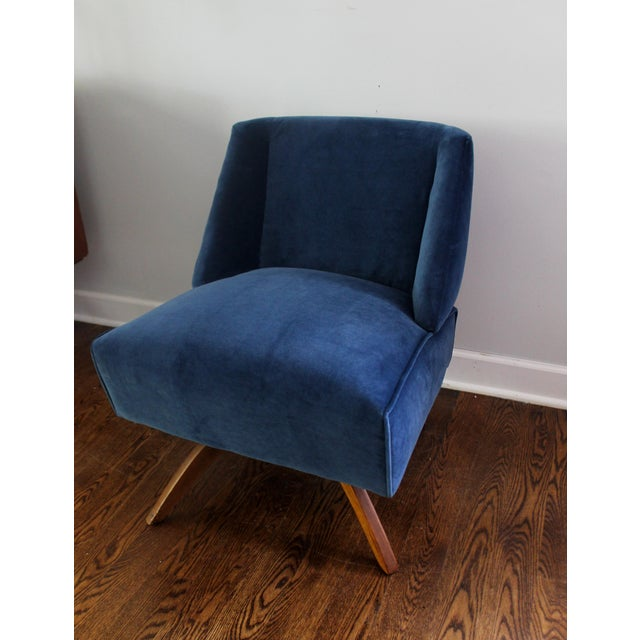 Vintage Mid Century Modern Accent Chair - Image 8 of 9