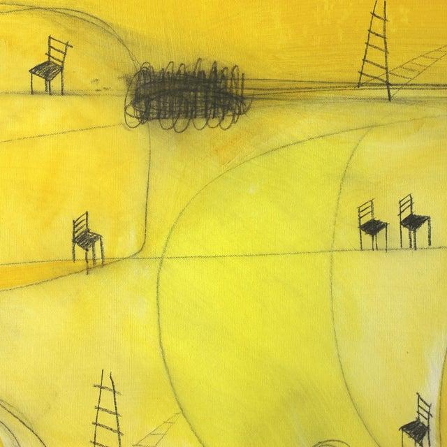 """2010s """"Espacio De Sol"""" Original Abstract Artwork by Sergio Valenzuela For Sale - Image 5 of 9"""
