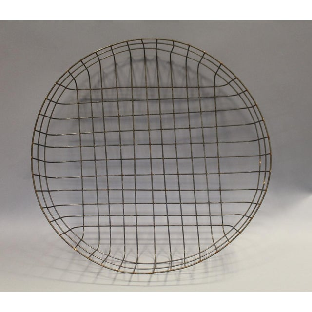 Large Reproduction Wire Basket - Image 5 of 5