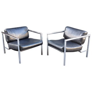 Jonathan Ginat for A.I.C. Lounge Chairs - A Pair