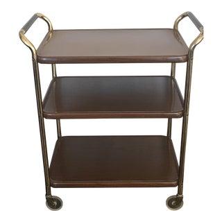 Vintage Cosco Double Handled Bar Cart