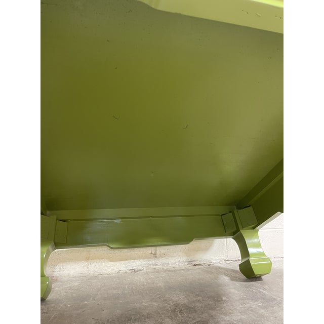 Lacquered Vintage Henredon Ming Table For Sale In Richmond - Image 6 of 8