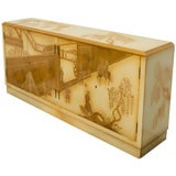 Image of Painted Chinoiserie Credenza For Sale