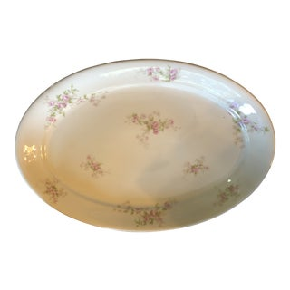 1910s Theodore Havilland Limoges Platter For Sale