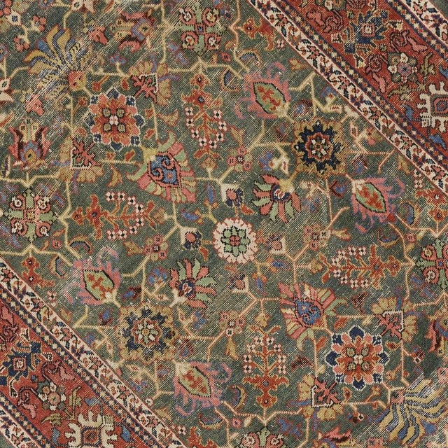Modern Antique Persian Sultanabad with Modern Design For Sale - Image 3 of 7