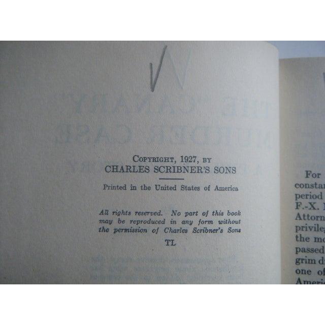 1930s Vintage Mystery Spiderweb Books - Set/3 - Image 4 of 7
