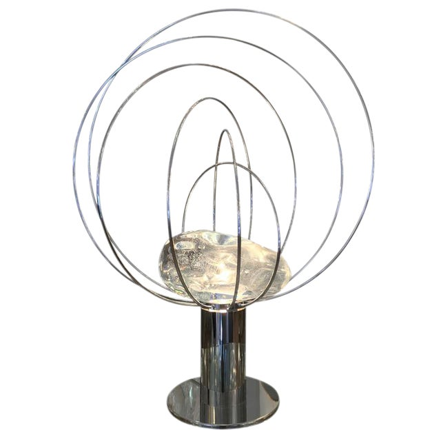 """Customizable """"Barnaba"""" Table Lamp by Angelo Brotto for Esperia For Sale"""