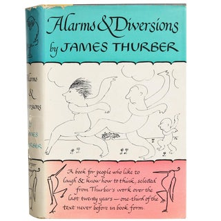 "1957 ""First Edition, Alarms & Diversions"" Collectible Book For Sale"
