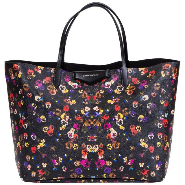 5389fef6f34 New Givenchy Large Flower Antigona Shopper Tote Bag For Sale - Image 10 of  10