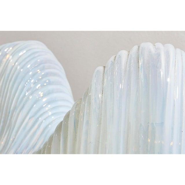 "Pair of iceberg lamps by Carlo Nason for Mazzega Italian circa 1960s Measurements Width 10"" 25cms Height 8"" 20cms Depth..."