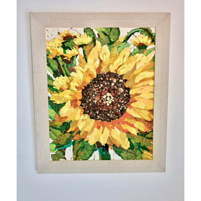 Sunflower Field I Collage For Sale In Atlanta - Image 6 of 6