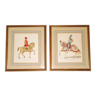 19th C. Lithographs After Burgkmair & Mercuri - A Pair