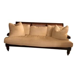 Robert Lighten British Colonial Sofa For Sale