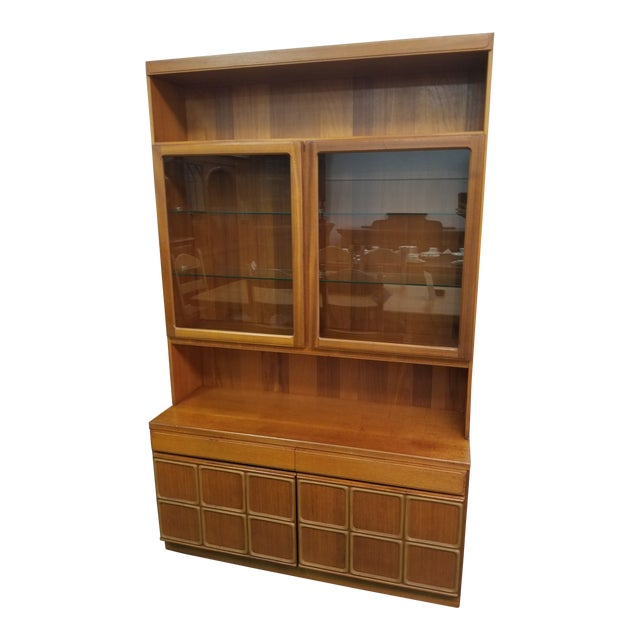 Mid Century Modern McIntosh China Cabinet For Sale